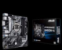 Carte Mère Asus Prime B460M-A - Intel Chipset - Micro ATX - Socket 1200- Intel B460 Express - 4 x DDR4 - USB 3.1 - 1 x PCI-Express 3.0 16x