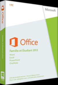 Pack Microsoft Office Famille et Etudiant 2016 OEM (Word, Excel, Powerpoint, OneNote)