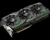 Carte Vidéo - Circuit NVIDIA GeForce STRIX-GTX1080-A8G-GAMING  PCIE 3.0.8GB GDDR5X 256 Bit.GPU boost Clock 1936 (MHz).Memory Clock 10 Gbps.1* Native DVI-D2* Native HDMI.2* Native DP.